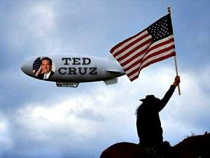 blimp-horse Ted Cruz Air Force