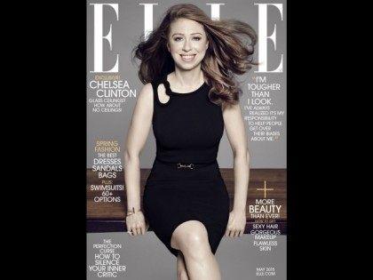 ELLE Magazine May 2015 cover/PAOLA KUDACKI