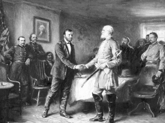 lee-and-grant-surrender-AP