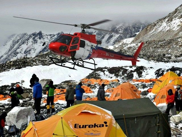 nepal rescue-helicopter-prepares-to