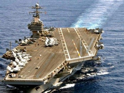 USS Theodore Roosevelt U.S. Navy