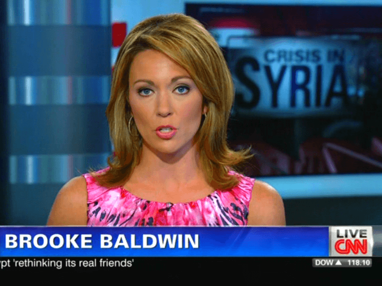 Brooke Baldwin Fakes