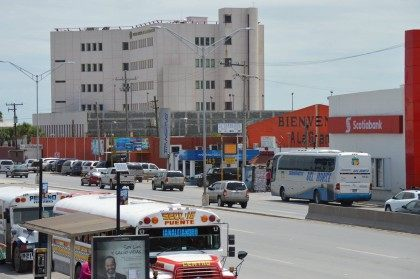 Cartel members threw left a grenade at the La Gran Pulga in Matamoros a flea market that is just steps away from that city's federal courthouse.