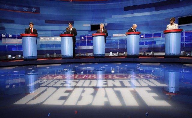 Mitt Romney, Newt Gingrich, Ron Paul, Michele Bachmann,