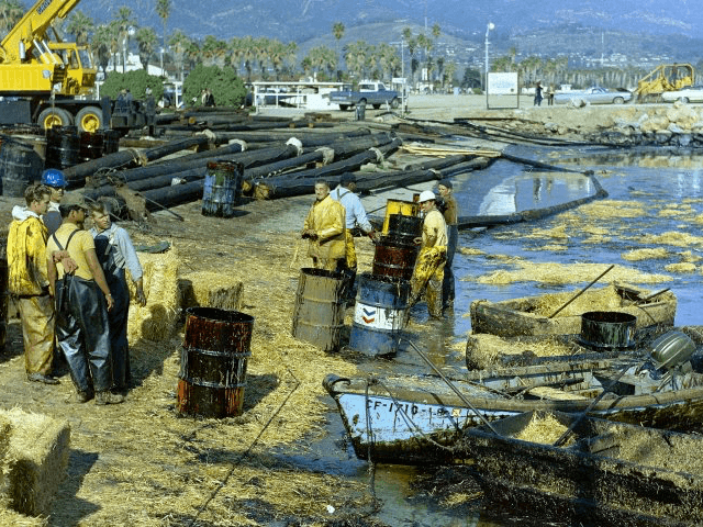 Oil Spill in Santa Barbara, Site of 1969 Disaster | Breitbart