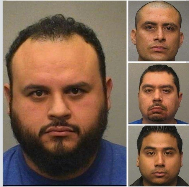 A Texas border teacher and a government contractor among the men arrested in a prostitution case that victimized a 16-year-old girl.