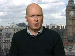 UKIP Supporter? Ben Harris-Quinney was attacked by the BBC.