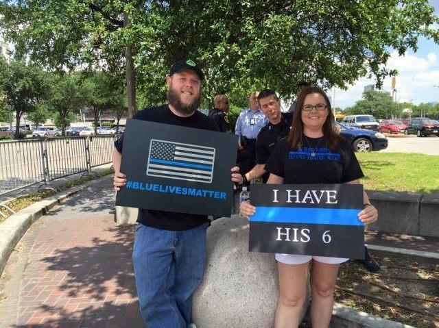 BLM 15 Blue Lives Matter - LS Photo
