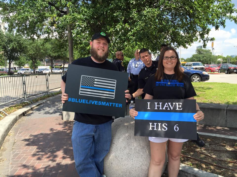 BLM 15 Blue Lives Matter  - LS Photo