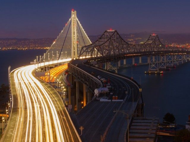 Bay Bridge San Francisco (Frank Schulenburg / Flickr / CC / Cropped)