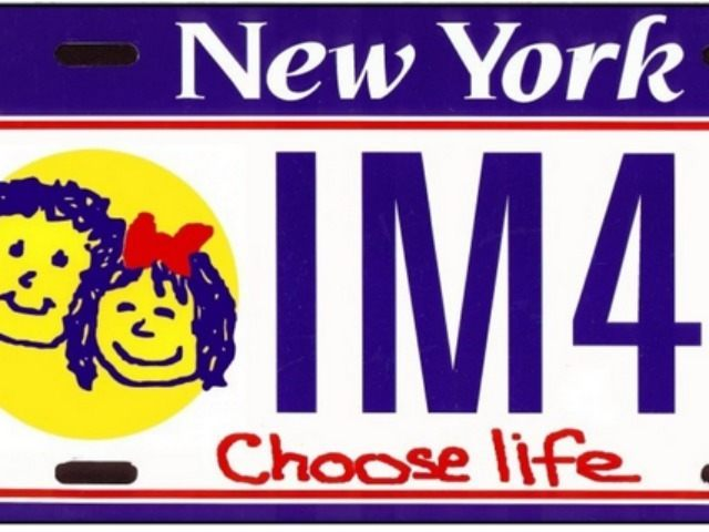 Choose life plate