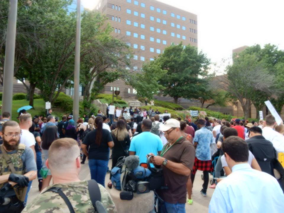 Dallas Protest - Photo - Annie Kobus