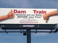 Dam Train (Courtesy Steve Brandau)