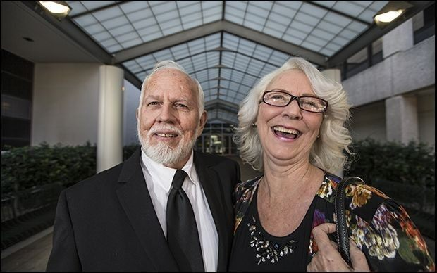 Dan and Fran Keller - AP Photo - Ricardo Brazziell
