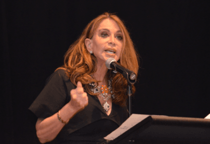 Geller speaking moments before the Garland Shooting