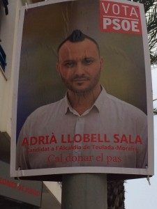 PSOE Spanish Election Poster