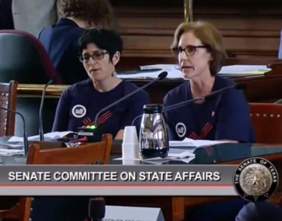 Leslie Ervin - Texas Senate Video