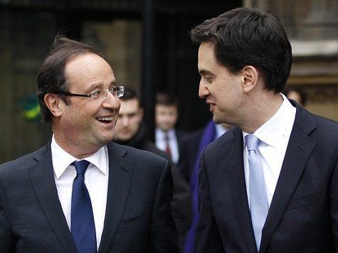 Britain's Labour party leader Ed Miliban