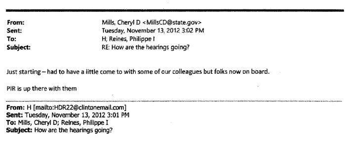 Mills hearings