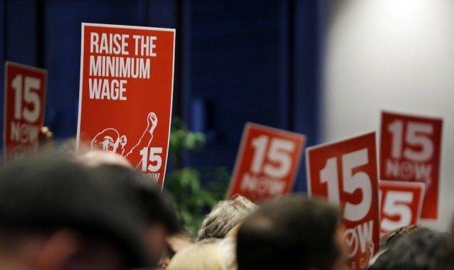 Minimum Wage 15 - AP Photo