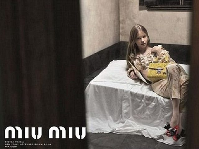 Miu Miu Advert PA