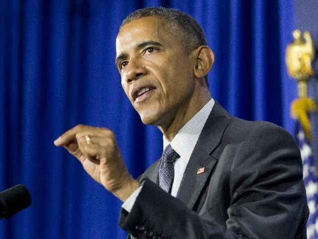 "President Barack Obama gestures as he speaks at Lehman College in the Bronx borough of New York, Monday, May 4, 2015. Obama announced the creation of an independent nonprofit organization that is a spin off his ""My Brother's Keeper"" program, which works to give young men of color more opportunities through mentoring and business partnerships."