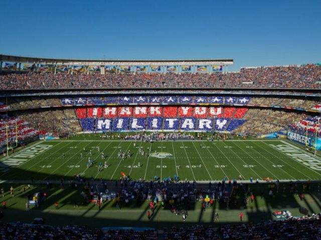 Quaalcom Stadium SD NFL Military