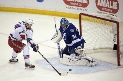 Rangers Lightning Playoffs AP