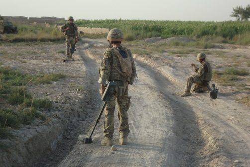 British EOD soldiers