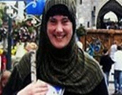 "Samantha Lewthwaite, a British citizen dubbed the ""White Widow"", is pictured in this undated photo posted on the Interpol website"
