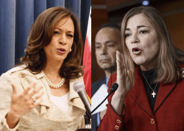 Harris - Sanchez (Breitbart News / Aires)