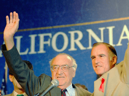 Pat Brown and Jerry Brown (Associated Press)