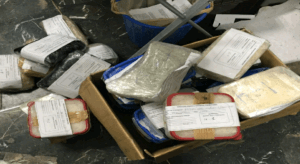 Crystal meth seized near Texas border