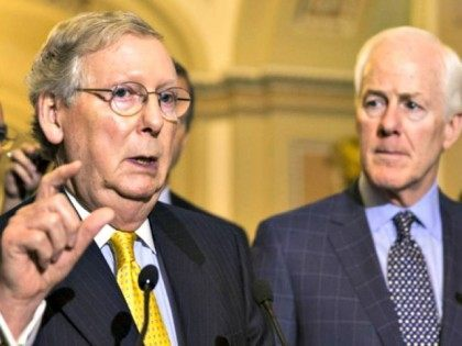 Senate GOP to Put Provision in Spending Bill Allowing for More Campaign Spending