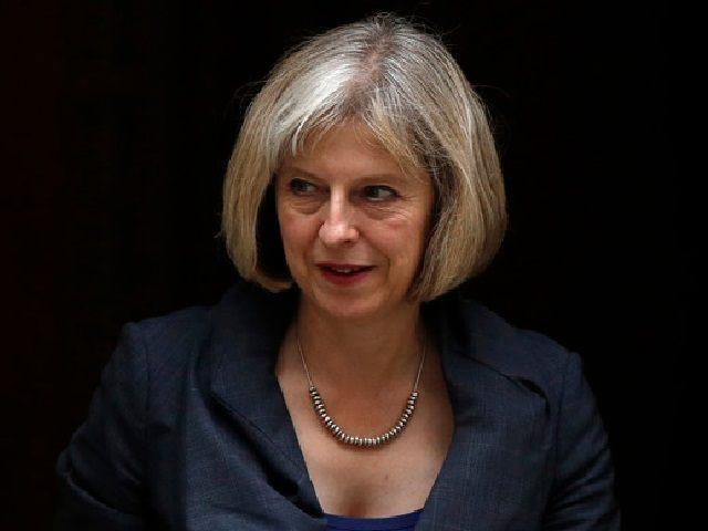 Theresa May Reuters