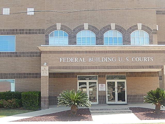 US Federal Courthouse - Del Rio Texas - Billy Hathorn CC