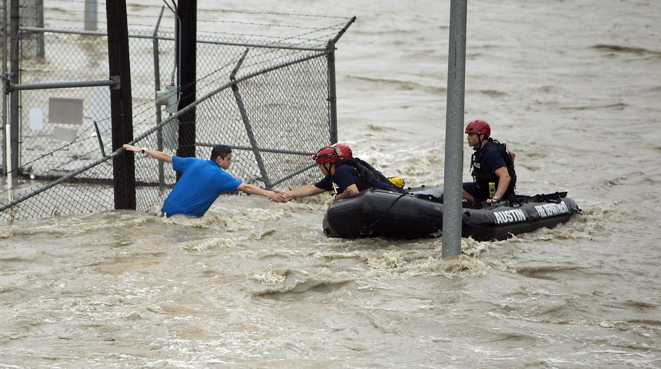 institutional left exploiting texas floods for political gain