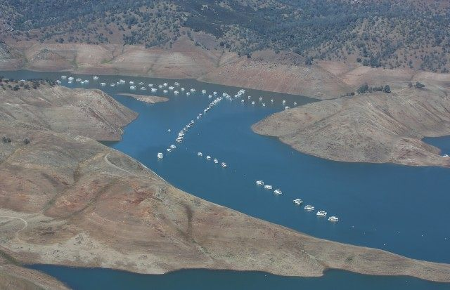 El Niño: California Reservoirs Rise Dramatically