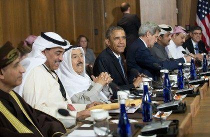 Barack Obama, Sheikh Sabah Al-Ahmad Al-Sabah, John Kerry
