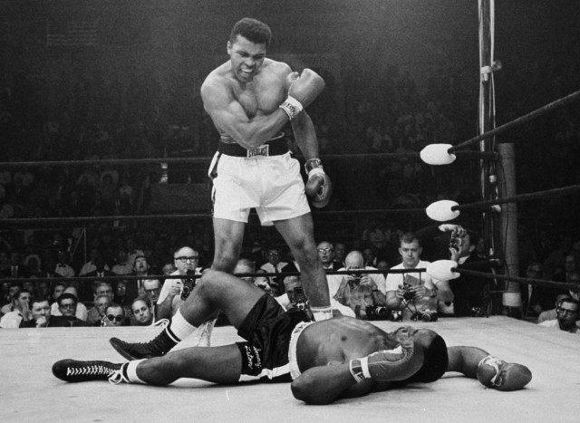 Muhammad Ali, Sonny Liston