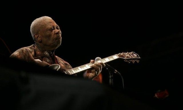 B.B. King performs during the 46th Jazz Festival in San Sebastian