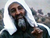 Osama bin Laden outside