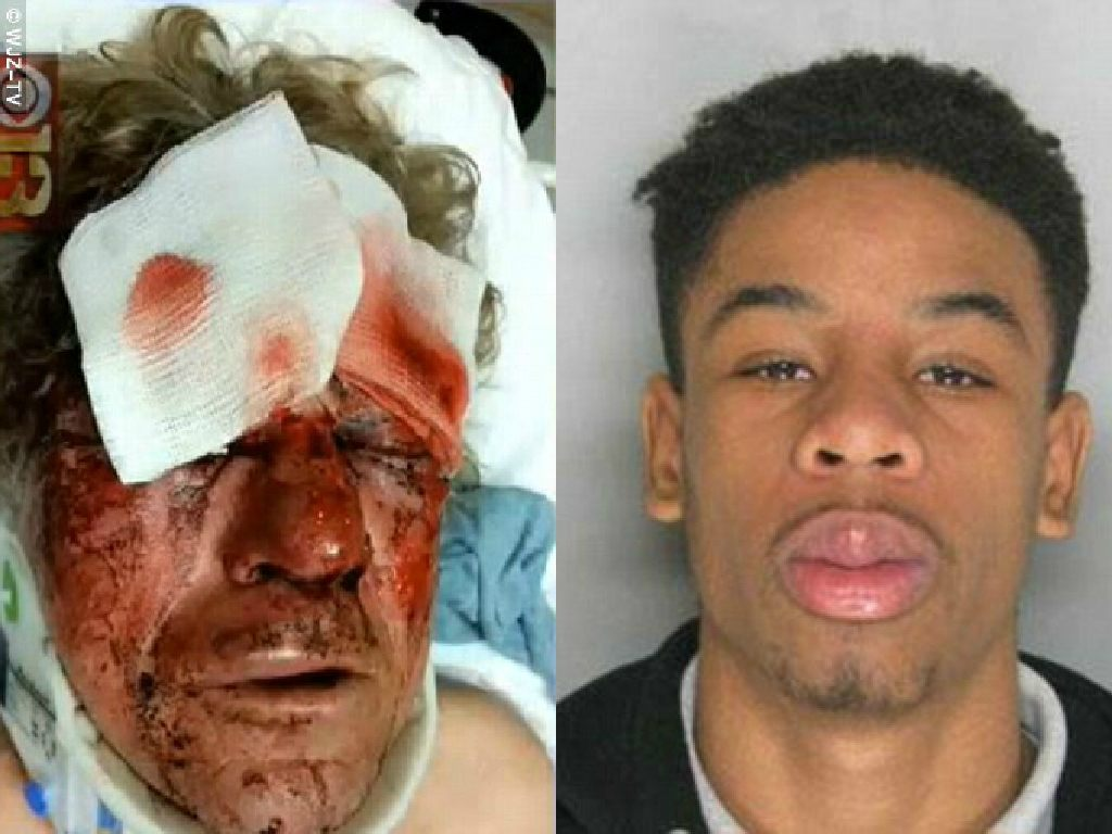 50 'Teens' Beat White Man to a Pulp For Asking Brawling ...