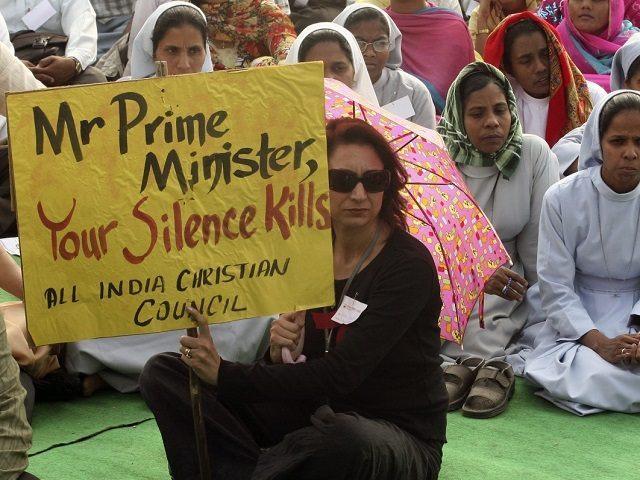 christian-protestors-india reuters