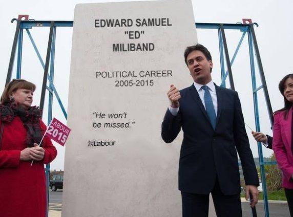 ed miliband tomb stone