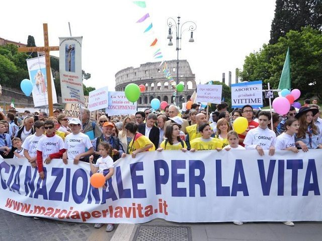 Annual March for Life, Rome 2015
