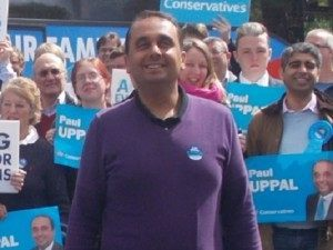 Uppal: Won the seat with the same majority as Enoch Powell.