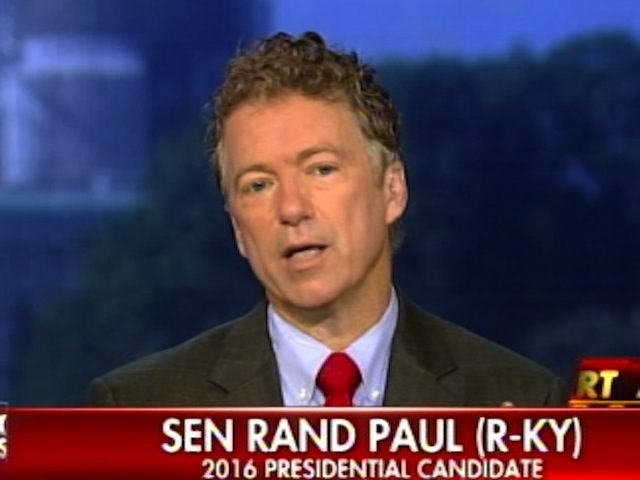rand paul 99 of the time a patriot act provision is used in domestic crime breitbart