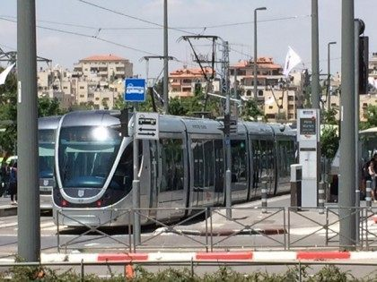 Jerusalem light rail terror (Joel Pollak / Breitbart News)