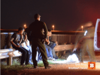 Unaccompanied Minors Captured near Mission Texas. Breitbart Texas Photo by Bob Price